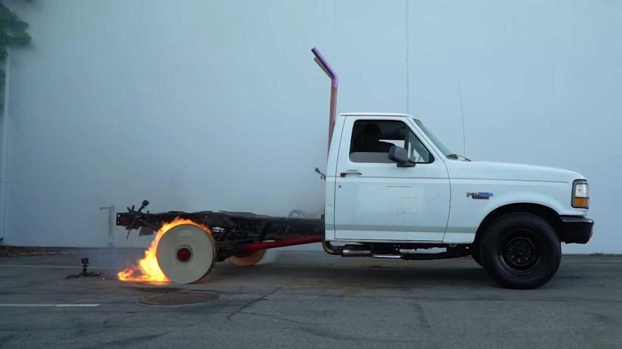 wood wheels burnout