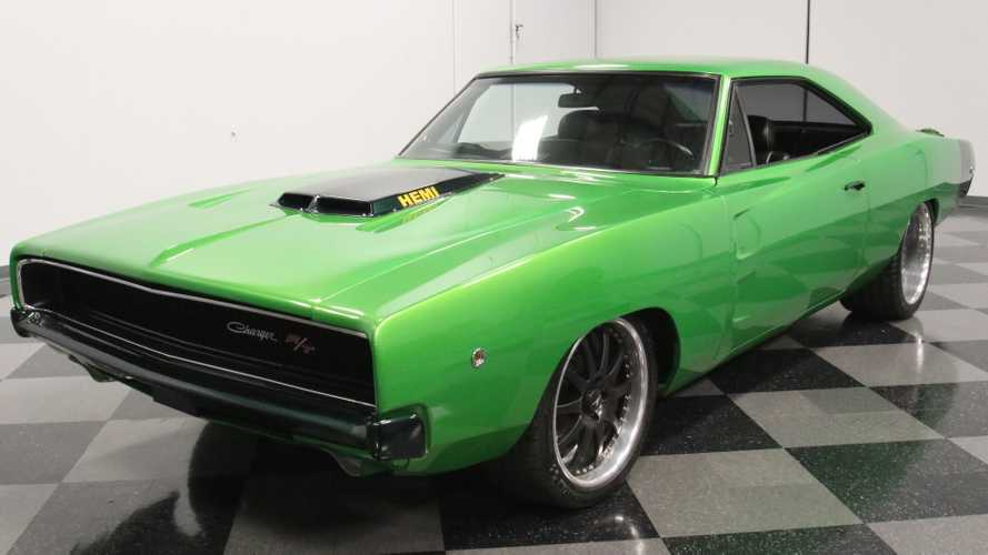 Make 'Em Green With Envy In A 1970 Dodge Charger Restomod