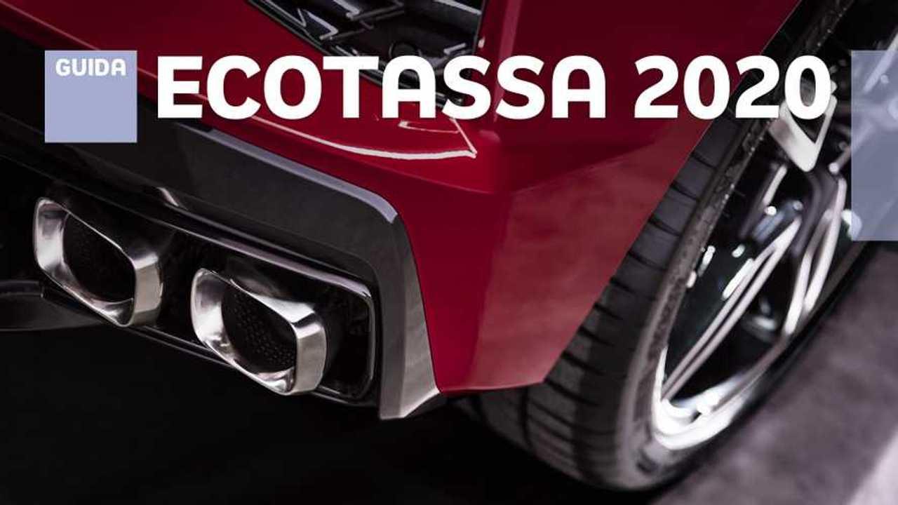 Copertina Ecotassa, l'elenco delle auto che la pagano nel 2020