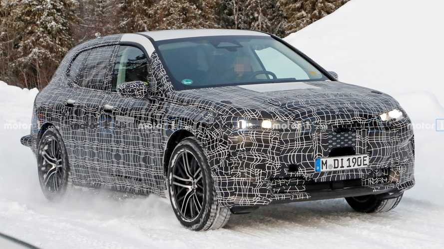 Production BMW iNext Spied Cold Winter Testing
