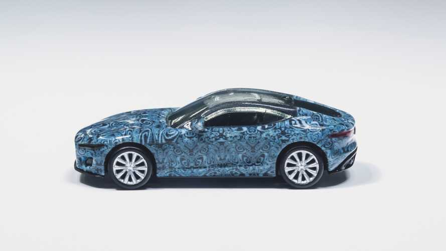 Jaguar F-Type, il debutto con la Hot Wheels