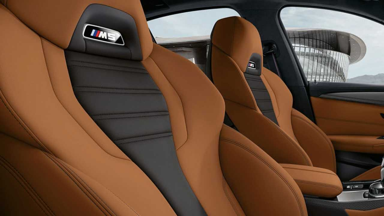 BMW M5, tapicería de cuero Merino