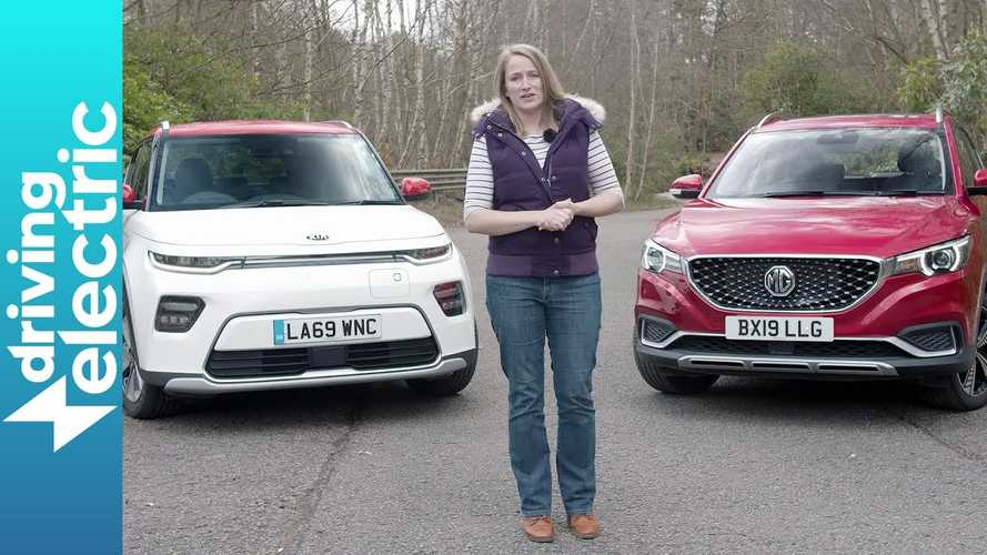 Electric Crossover Showdown: Kia Soul EV Takes On MG ZS EV