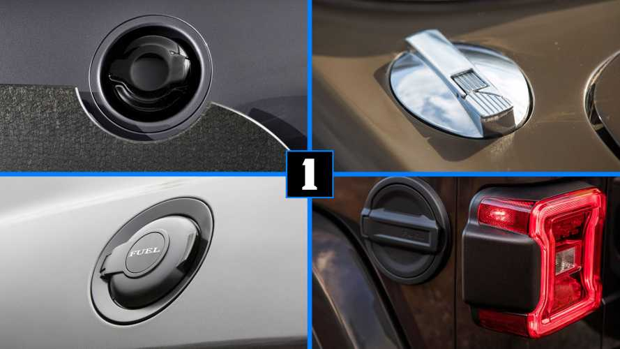 Quiz: Can you guess the cars that go with these fuel caps