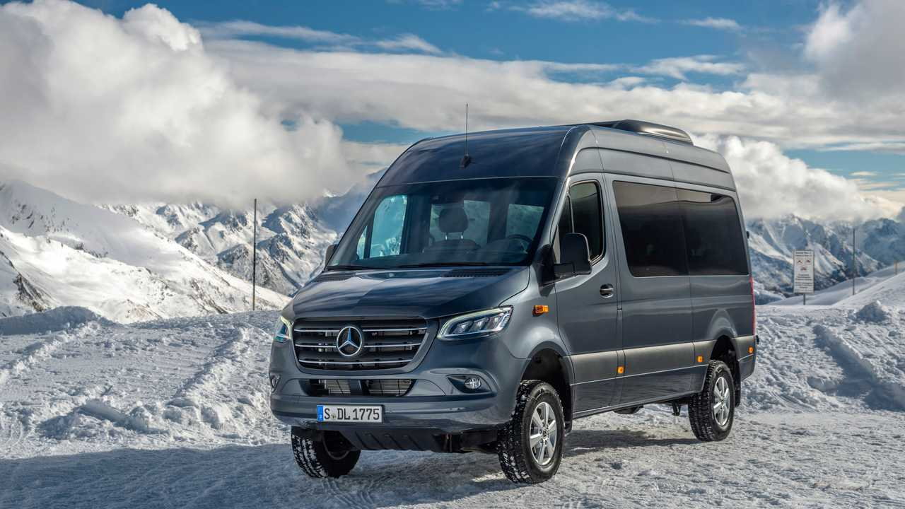 Mercedes Sprinter 4Motion