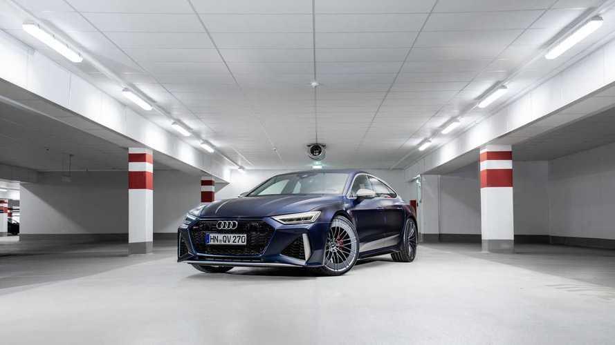 1000 bg güce sahip bu Audi RS7 Sportback rekora koşuyor