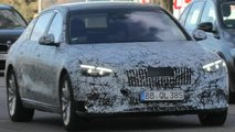mercedes maybach s class spied