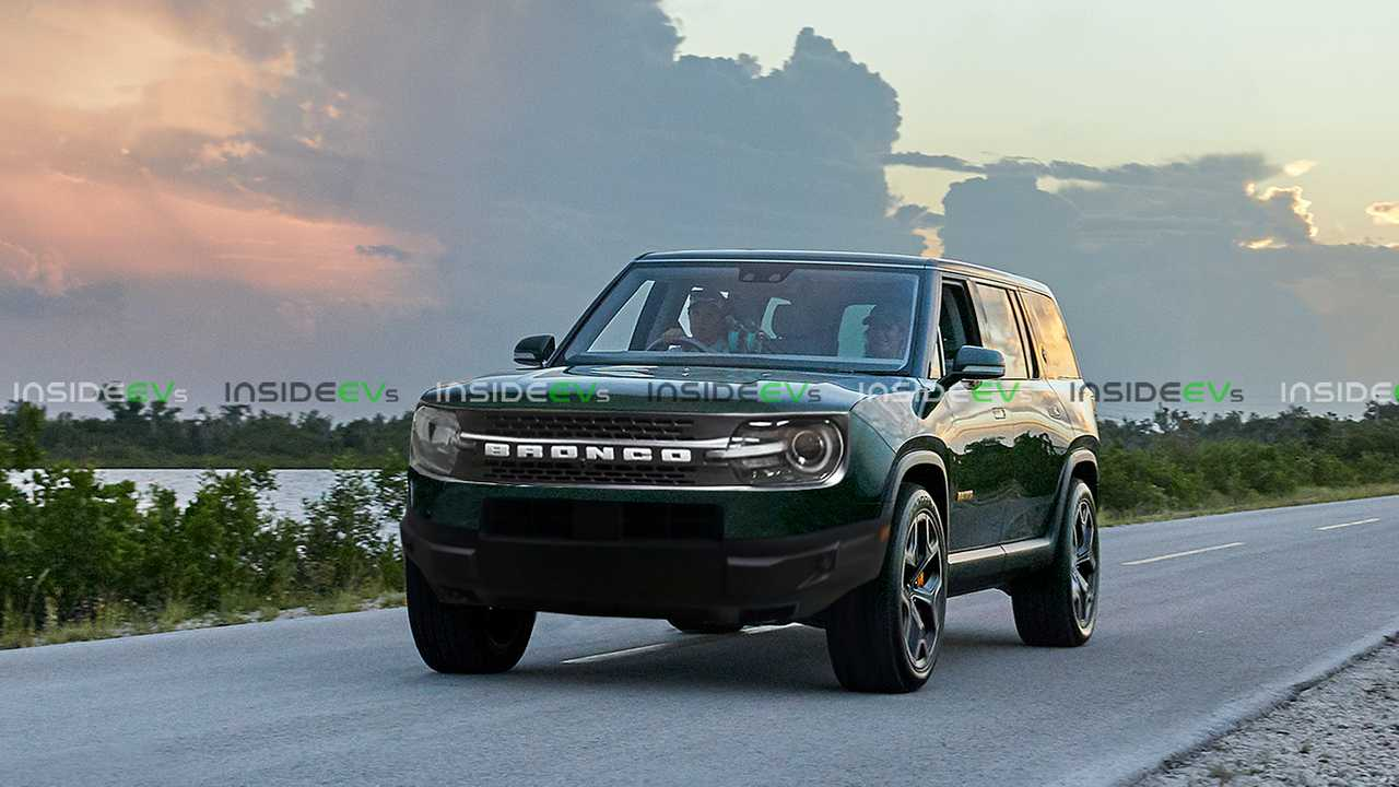 Rivian R1S With Bronco Front