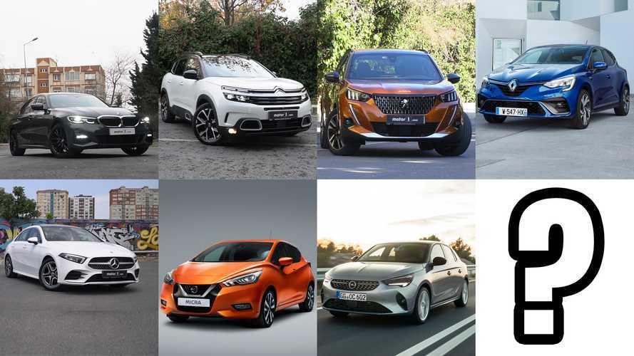 Sizce, Türkiye'de Yılın Otomobili Hangisi?