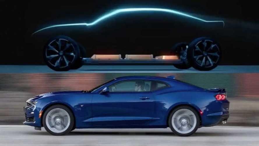 Chevrolet Camaro заменят электрическим спортседаном