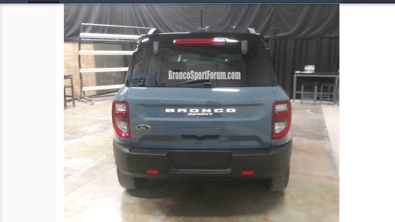 Ford Bronco Sport Sızıntı Görüntüleri