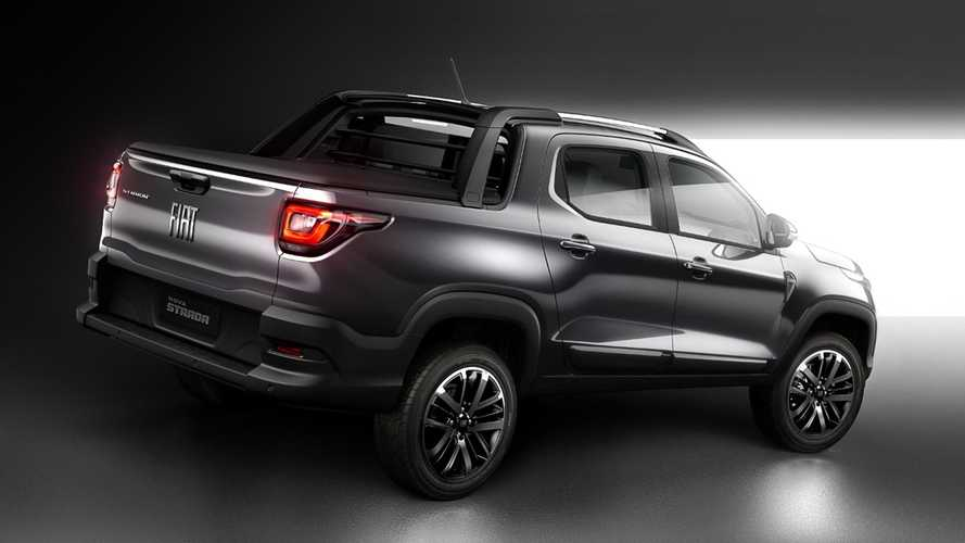 Nova Fiat Strada 2021 revela traseira inspirada na Toro
