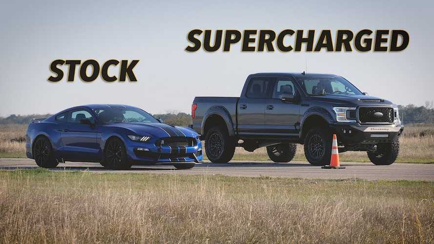 Hennessey Shows Why You Shouldn't Race Pickup Trucks In Texas