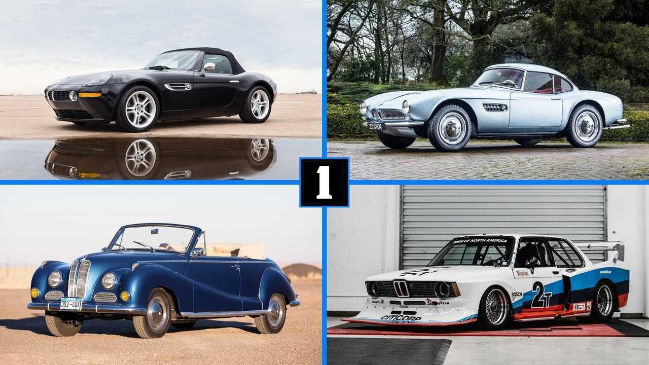 Die teuersten BMWs aller Zeiten (Collage)