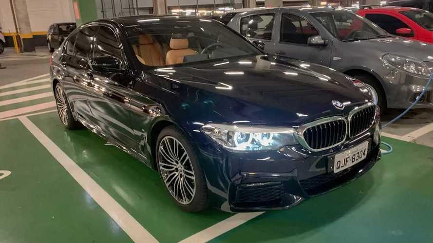 Teste - BMW 530e iPerformance