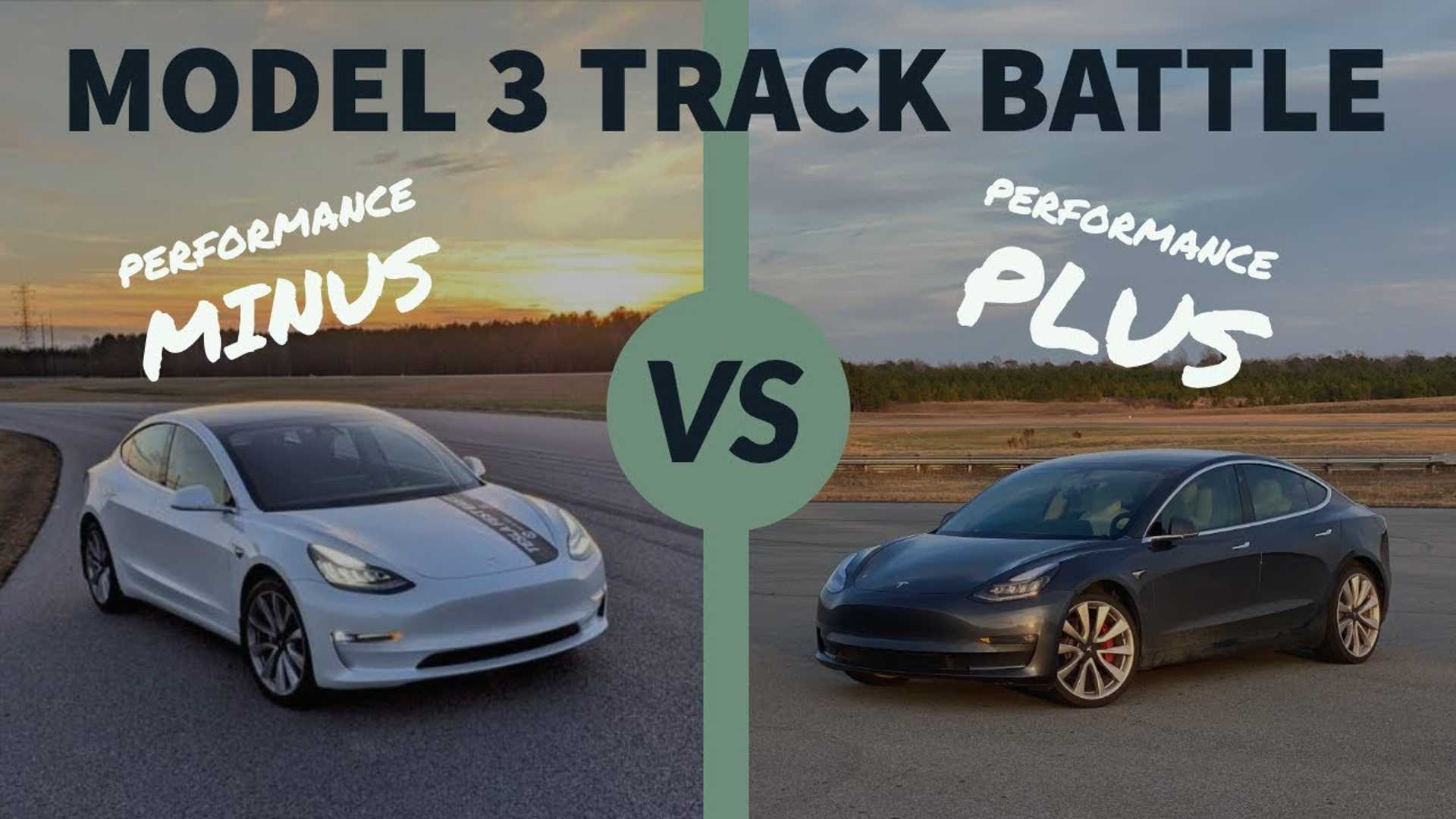 Tesla Model 3 Performance 'Upgrades' Car Vs Model 3P 'Sleeper'