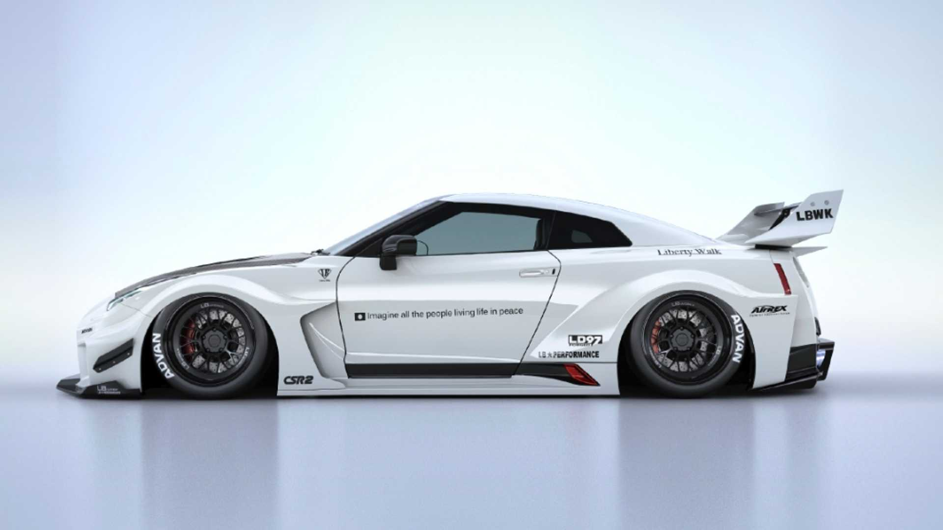 Liberty Walk Wants To Sell You A 73 570 Nissan Gt R Body Kit