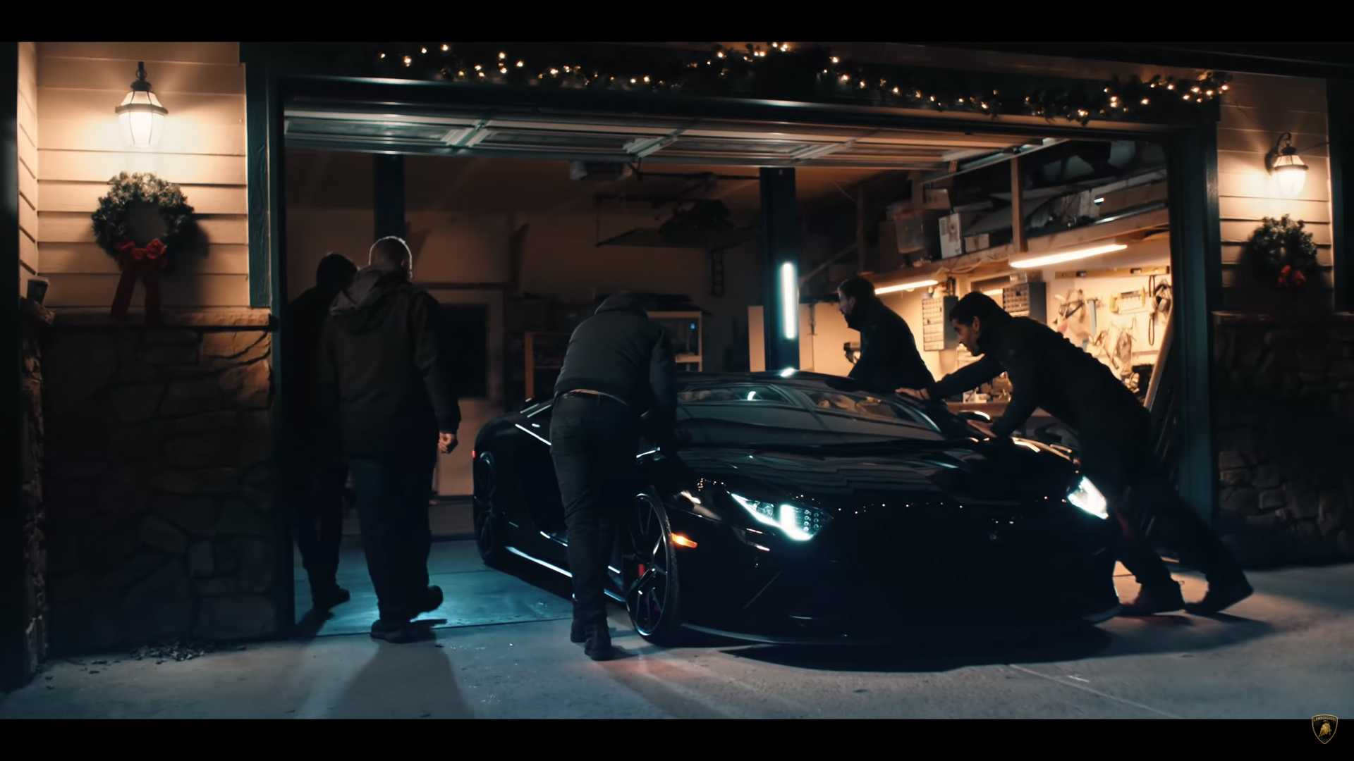 Lamborghini Surprises Family Building Aventador Replica With Real Car