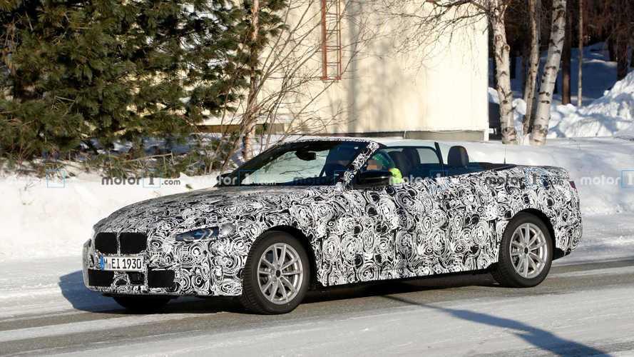 2020 BMW 4 Serisi Cabrio üstü açık yakalandı