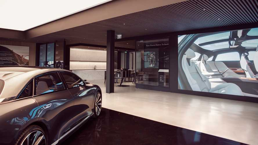 Exclusive First Look At Lucid Motors Showroom, Plus CEO Interview