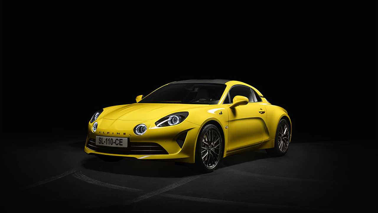 Alpine A110S Color Edition