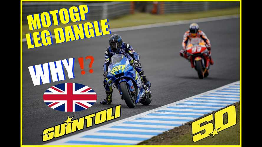 What Does The MotoGP Leg Dangle Do For Racers, Anyway?