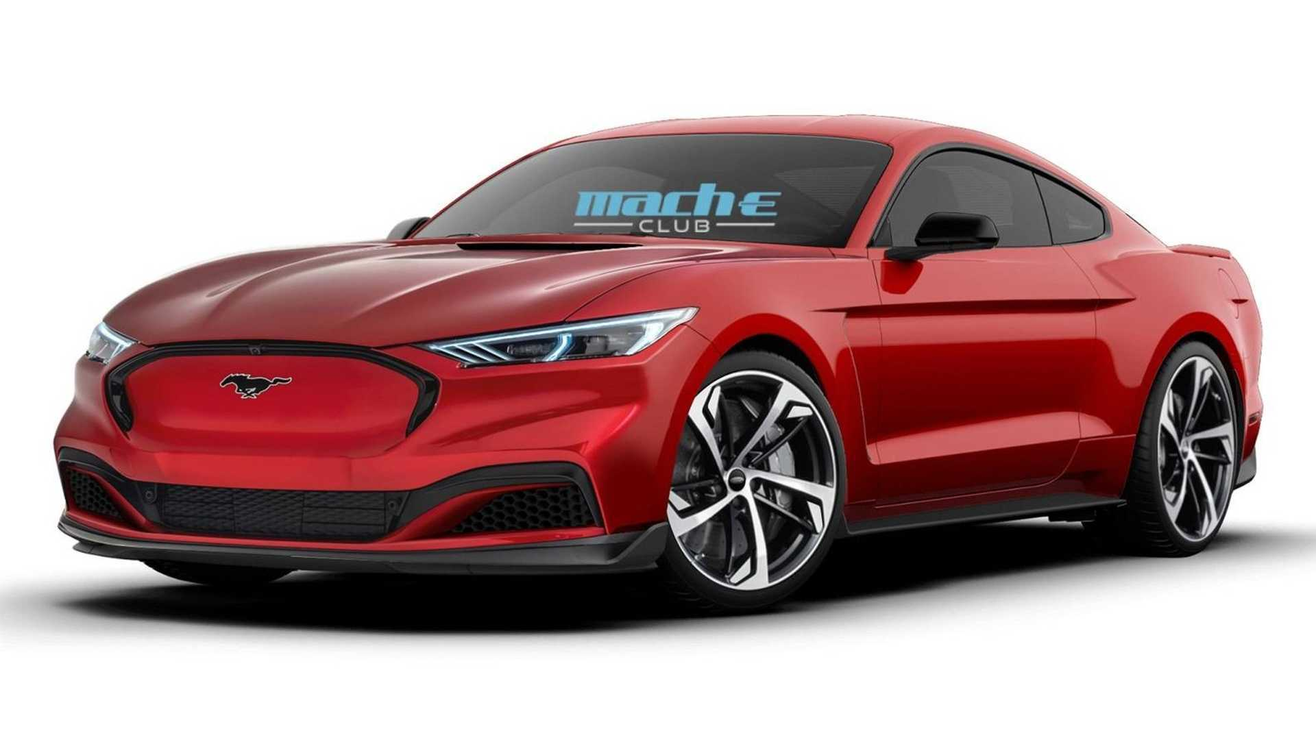 New Ford Mustang Could Offer V4 Hybrid Power And All-Wheel Drive