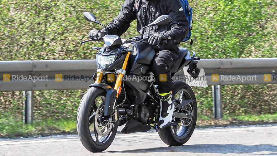 Spy Shots BMW G 310 GS/R