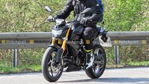 bmw g310gs g310r update spy shots