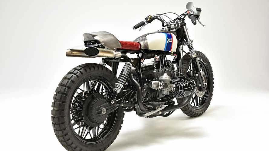 TWO FACE: 1982 BMW R100 RS