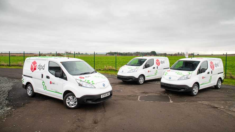 DPD Electrified 10% Of Its Van Fleet Ahead Of Schedule
