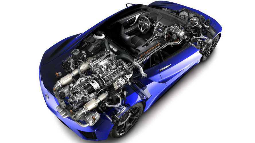 Acura Shows The Science Behind Making The NSX's Twin-Turbo V6