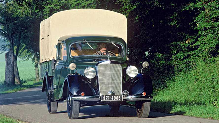 Mercedes-Benz 170 V, e  la Germania ripartì con il furgone