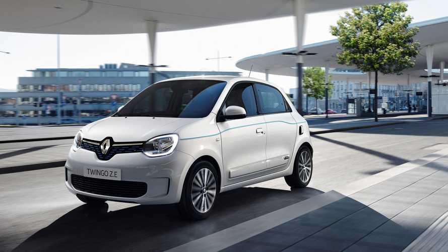 Renault Twingo Z.E. (2020), kleinere Galerie