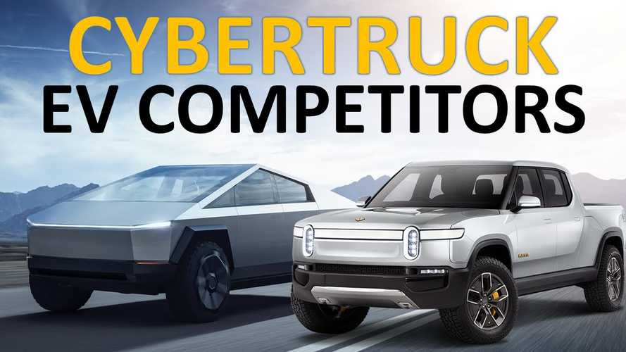 Tesla Cybertruck, Rivian R1T, Other Electric Pickup Trucks Compared