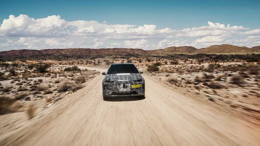 A Kalahári-sivatagban folytatódik a BMW iNEXT tesztje