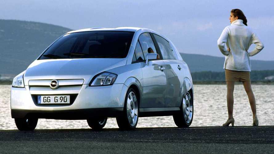 Opel G90: рекордная обтекаемость без вреда функциональности