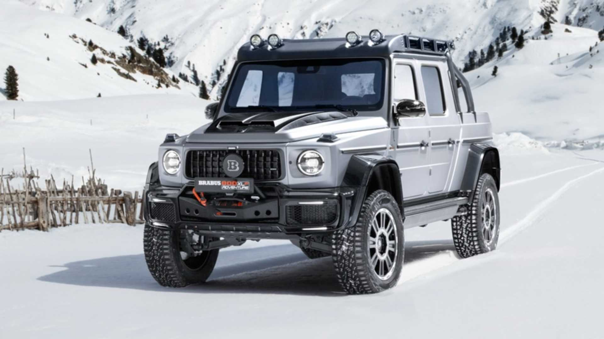 Brabus 800 Adventure Xlp Is Rugged G Class Based Truck Of Your Dreams