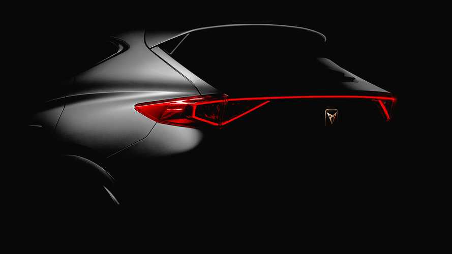 2021 Cupra Formentor teased in production form ahead of Geneva