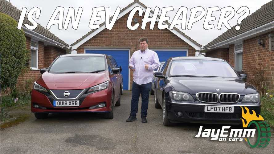 When Do Savings Set In? Nissan LEAF Versus V12 BMW 7 Series
