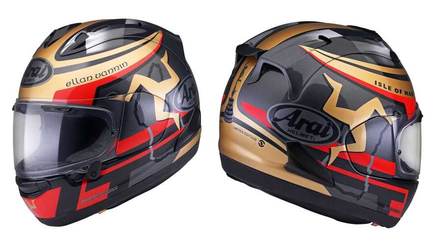 Arai Announces 2020 Isle Of Man TT Helmet