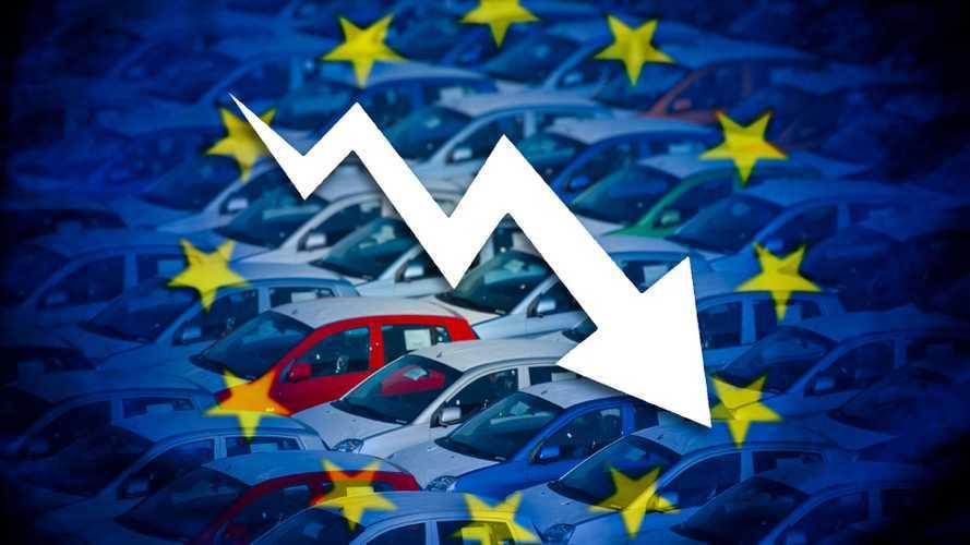 Vendite auto, in Europa si prevede un crollo del 20%