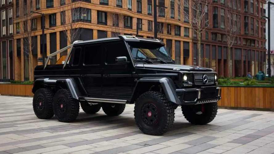 Mercedes-Benz G 63 AMG 6х6 продают в Москве