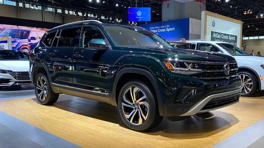 Volkswagen Atlas 2021 tem visual atualizado e novidades no interior