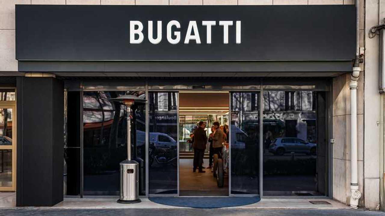 Showroom Bugatti Paris