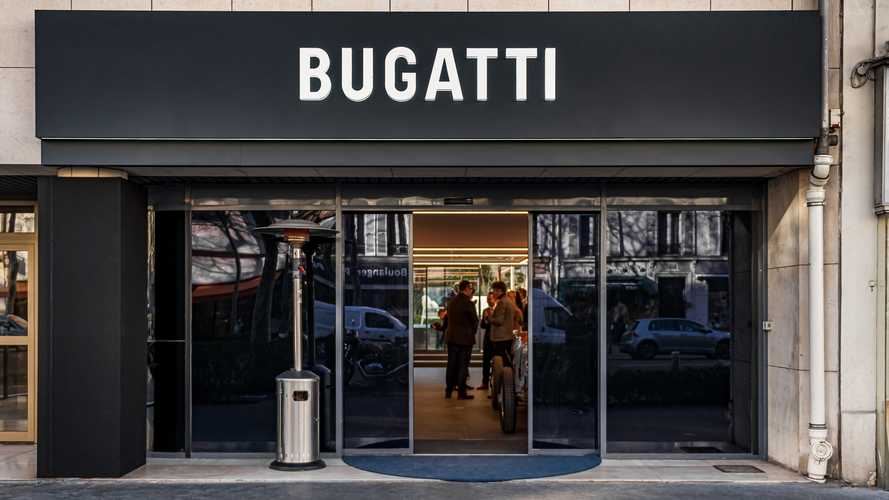 Bugatti inaugure son nouveau showroom en région parisienne