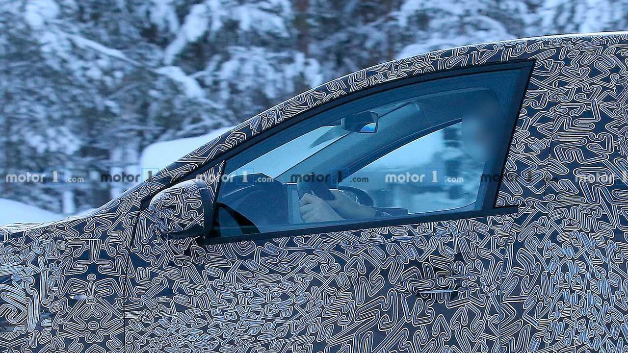 2021 Dacia Sandero spy photo