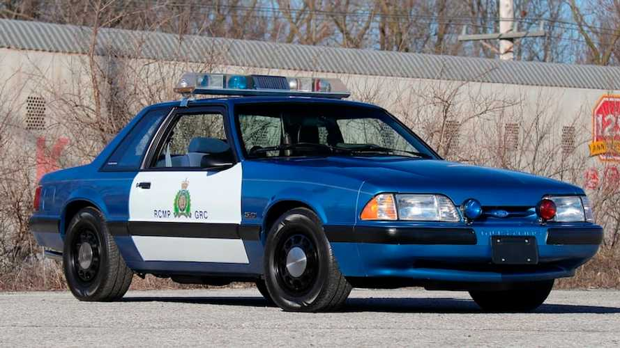 Rare Ford Mustang Canadian Police Car Can Be Yours