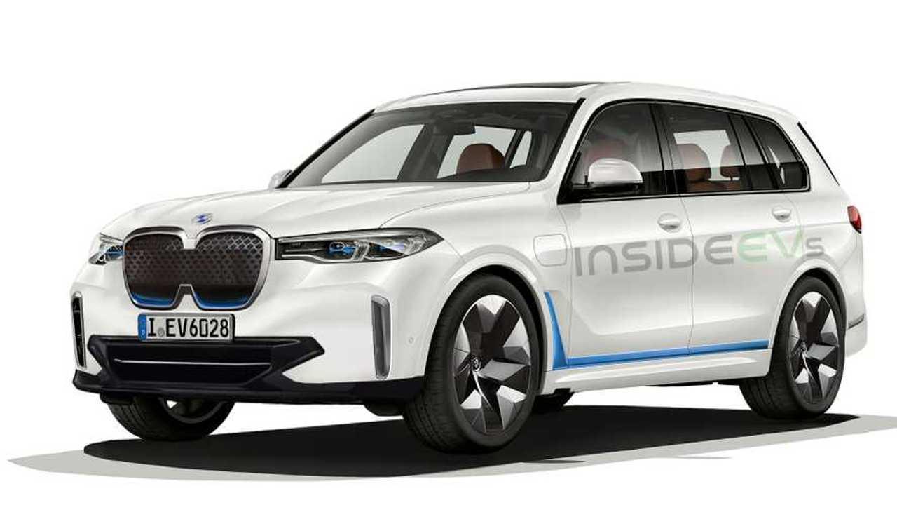 BMW iX7 Rendering