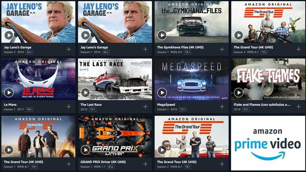 10 contenidos de coches en Amazon Prime Video